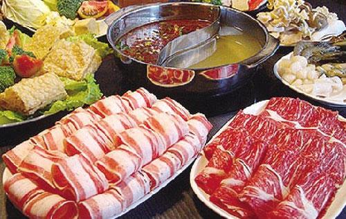 吃火锅时候少点五类菜