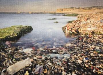 """表示""""太平洋垃圾涡流""""在着手清理回收海洋中的塑料碎片的同时,还将"""